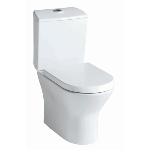 Roca Nexo Close Coupled Toilet Pan (Open Back) White