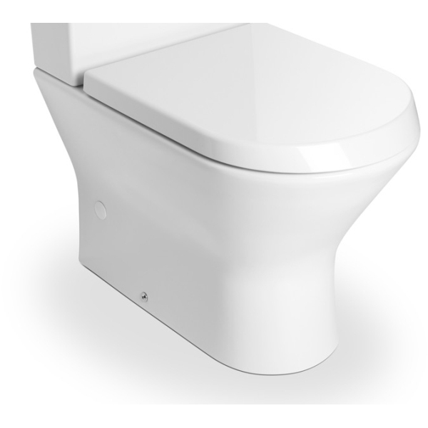 Roca Nexo Compact Close Coupled Toilet Pan White