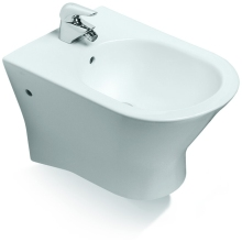 ROCA NEXO Wall Hung Bidet 1 Tap Hole White