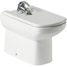 Roca Senso Bidet With Fixing Kit White