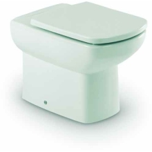 Roca Senso Compact Back To Wall Pan White