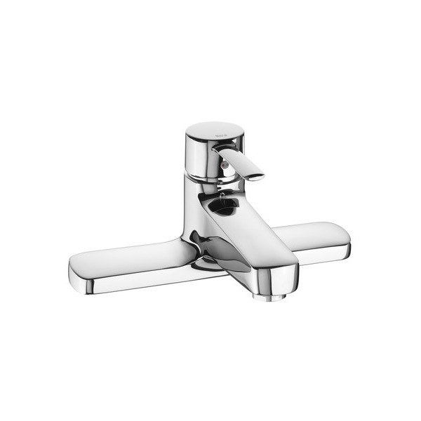 Roca Targa Deck Mounted Bath Filler Chrome