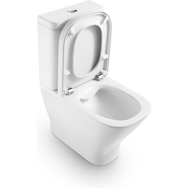 Roca The Gap Close-Coupled WC with Dual Outlet