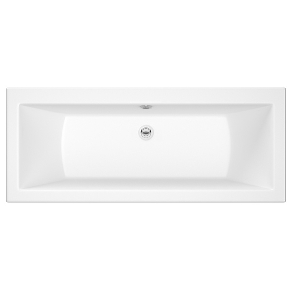 Roca The Gap Double Ended Bath 1700 x 750mm  White
