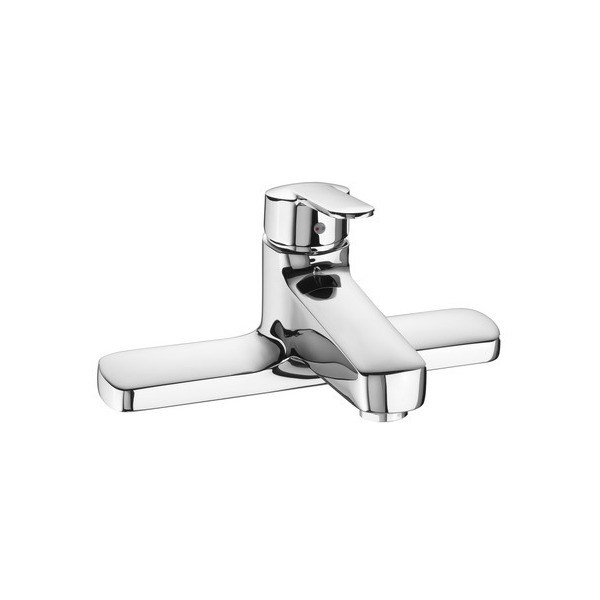 Roca Victoria Deck Mounted Bath Filler Chrome