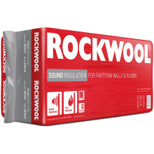 Rockwool Sound Insulation Slab 1200x600x50mm