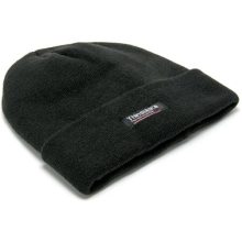 Rodo Black Thinsulate Lined Woolly Hat