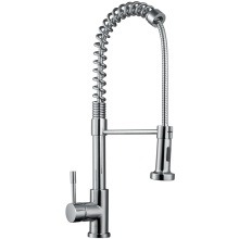 Rome Pull Out Side Lever Kitchen Sink Mixer