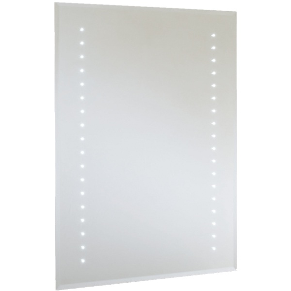 Rubens LED Bevel Edged Mirror Shave and Demist 800x600