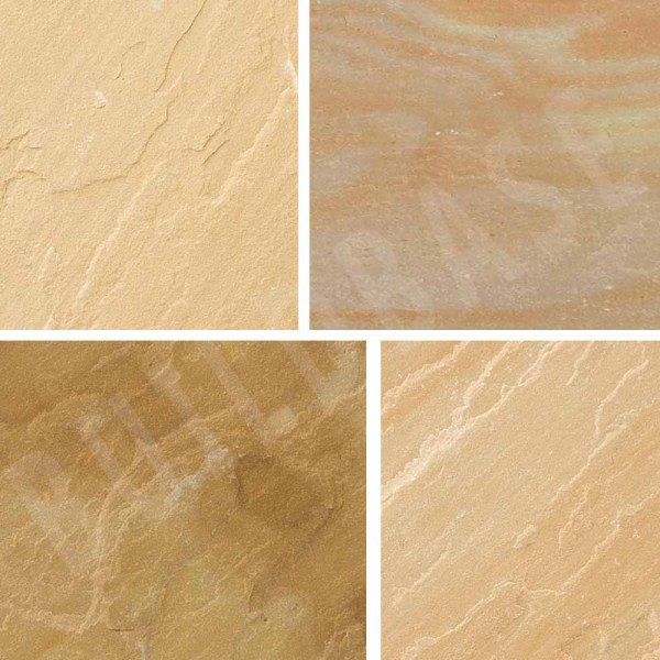Sandstone Patio 3Ring Circle Sunset Buff