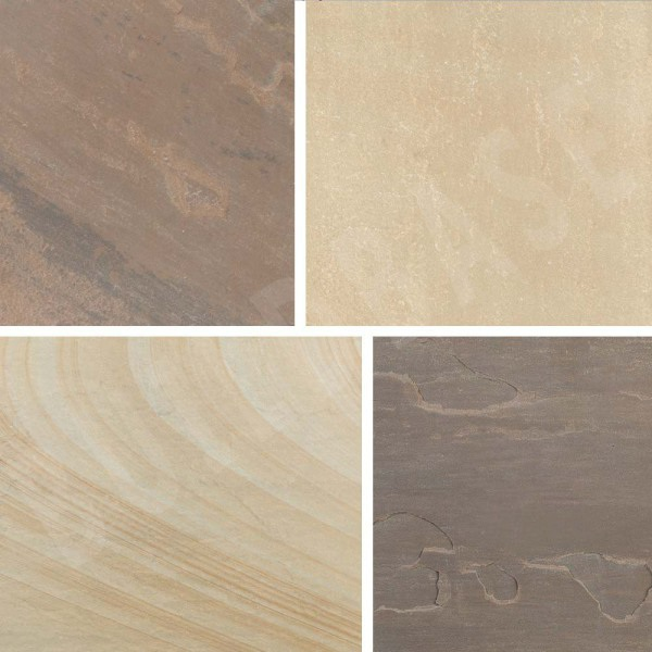Sandstone Patio Pack Rustic Buff