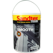 Sandtex High Cover Smooth Brilliant White 5L