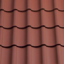 Sandtoft Shire Pantile Roof Tile Terracotta Red