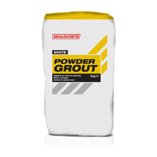 Sealocrete 2.5kg White Powder Grout