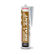 Sealocrete Roof & Gutter Sealant Black 310ml