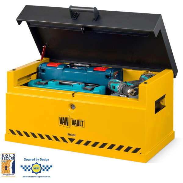 Secure Storage Box Van Vault Mobi & Docking Station