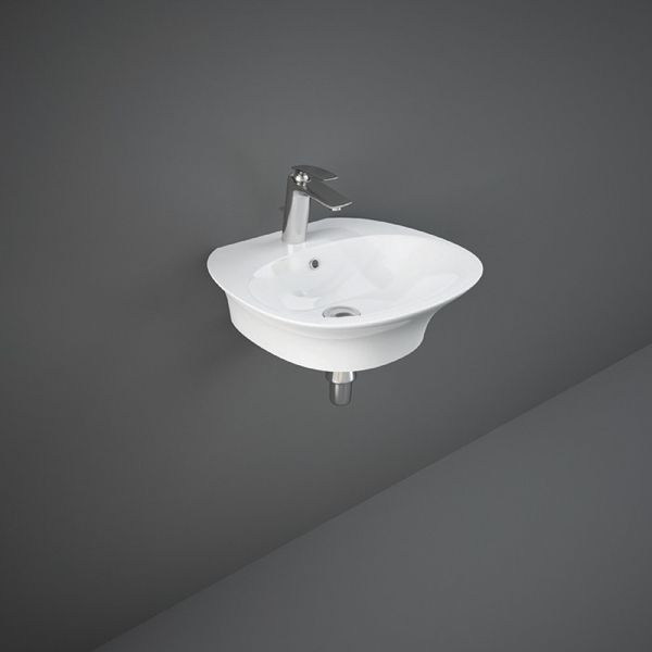 Sensation Wall Hung Basin 1Tap Hole 50cm