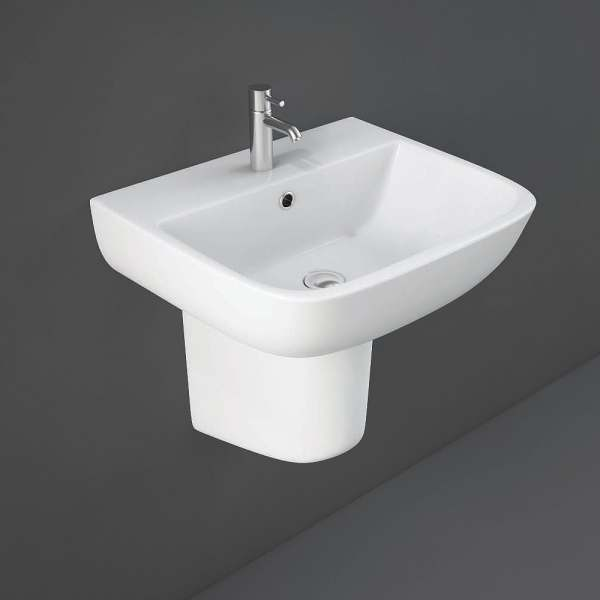 Series 600 Half Pedestal for 52cm Basin