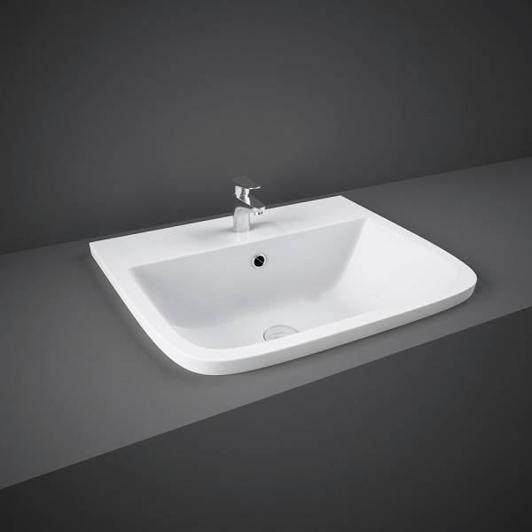 Series 600 Inset Vanity Bowl 1Tap Hole
