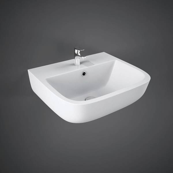 Series 600 Wall Hung Hand Basin 1Tap Hole  40cm