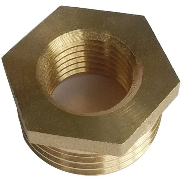 "Suregraft 1/2"" x 3/8"" Brass Bush 10pk"
