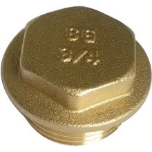 "SG 3/4"" Brass Flanged Plugs 10pk"