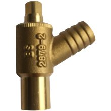 SG Drain Off TypeA 15mm Brass 5pk