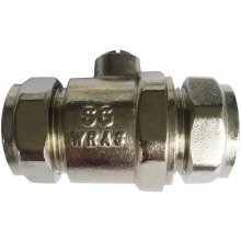 SG Iso Valve Full Bore WRAS CP 22mm x 22mm