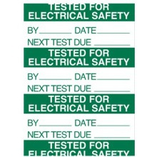 Sign Pat Test Tested Pk140