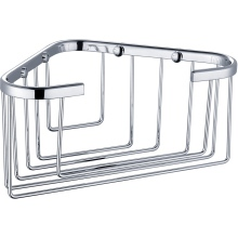 Single Deep Corner Basket 175x175x100 Chrome