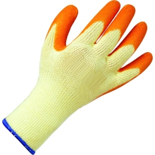 Suregraft Orange Grip Builders Gloves Size 10
