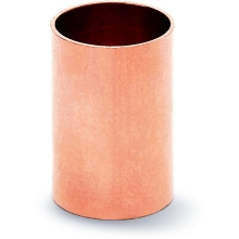 Slip Coupling End Feed Copper 22mm