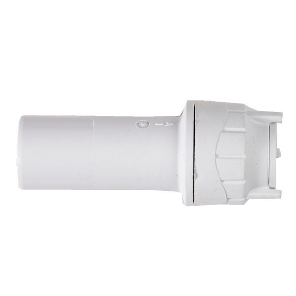 Polyfit Socket Reducer White 15mm x 10mm