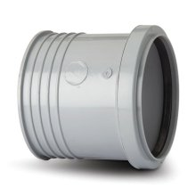 Soil Drain Connector Grey 110mm
