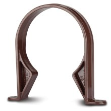 Soil Socket Clip Brown 110mm