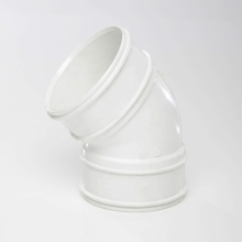 Soil Solvent Bend 135 White 110mm
