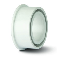 Soil Solvent Boss Adaptor White 40mm