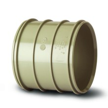 Soil Solvent Coupler Grey 110mm