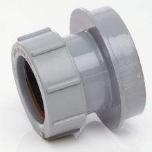 Soil Straight Boss Adaptor Solvent Grey 32mm