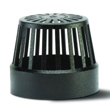 Soil Vent Terminal Black 110mm