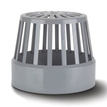 Soil Vent Terminal Grey 110mm