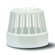 Soil Vent Terminal White 110mm