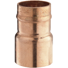 Solder Ring Fitting Reducer 22mm x 15mm