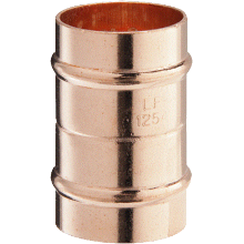 Solder Ring Straight Coupling 22mm