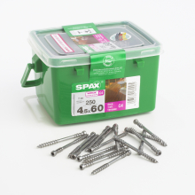 Spax Wirox Timber Construction Screws 6.0 x 100mm - Box of 250