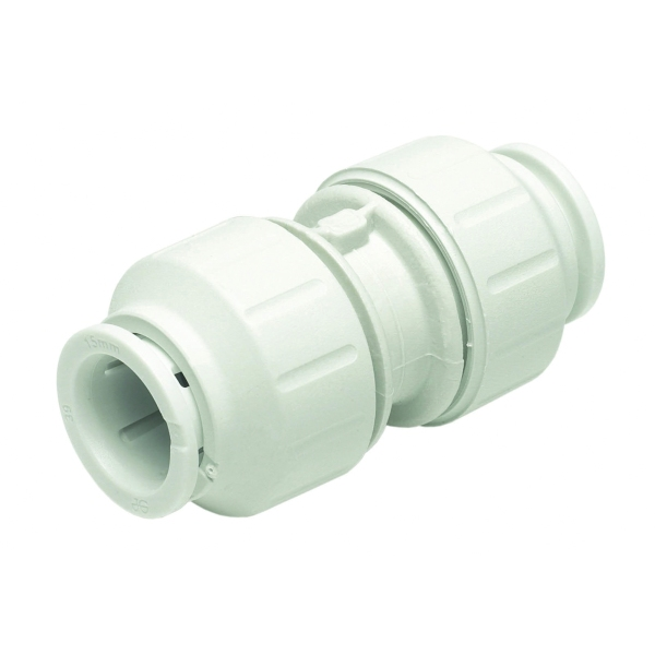 Speedfit 15mm Equal Straight Connector PEM0415W