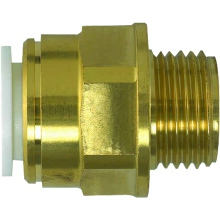 Speedfit 15mmx1/2 Brass Male Coupler BSPT (M