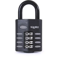 Squire Combination Padlock 4 Wheel Black 40mm CP40