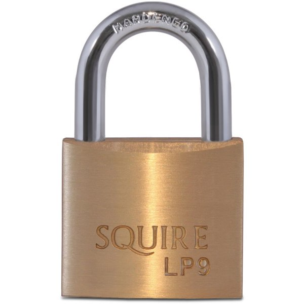 Squire Solid Brass Padlock 40mm LP9