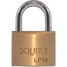Squire Solid Brass Padlock 50mm LP10